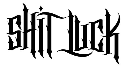Granted, i like the structure of most tattoo typography and this one was